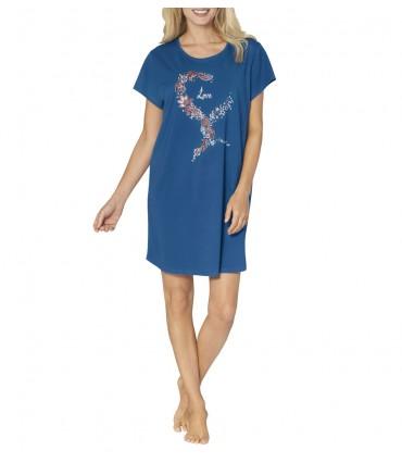 Νυχτικό Triumph Nightdresses NDK 01 Μπλε Ρουά