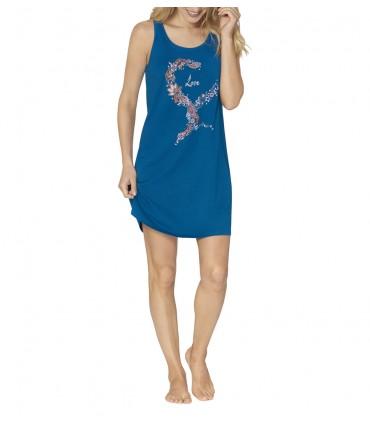 Νυχτικό Triumph Nightdresses NDK 03 Μπλε Ρουά