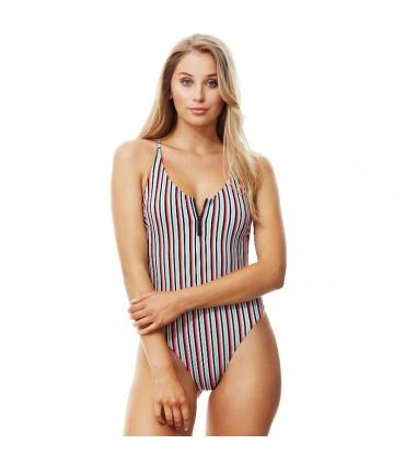 Γυναικείο Ολόσωμο Μαγιό Πολύχρωμο Piha Candry Stripe P4902CS