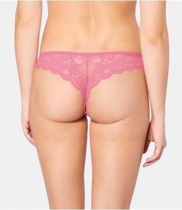 Σλιπάκι Triumph Tempting Lace Brazilian String Ροζ 7210/6W