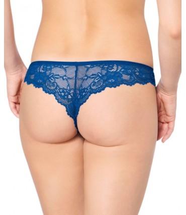 Σλιπάκι Triumph Tempting Lace Brazilian String Μπλε 7209/6U
